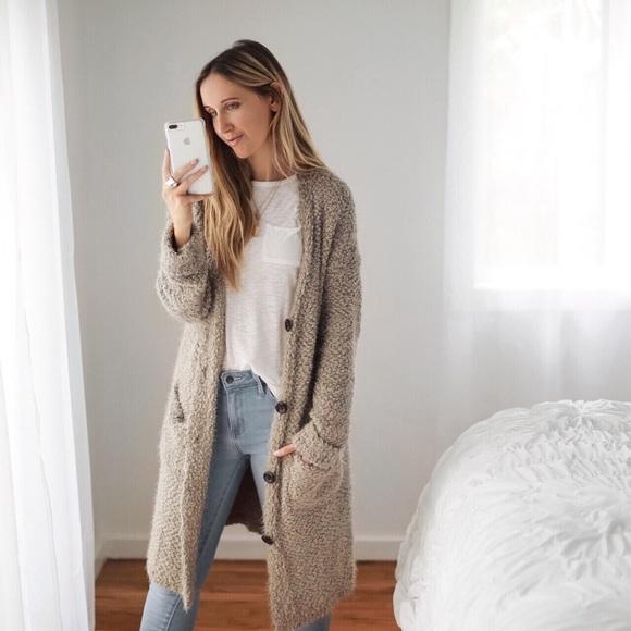 77f8f49421a Tribeca Soft Fuzzy Cardigan Sweater Boutique